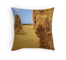 The Pinnacles, Cervantes WA Throw Pillow