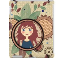 The girl with red hair iPad Case/Skin
