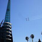 Red Bull Air Race, Swan River, Perth, WA by Karyn Lake