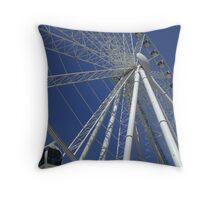 The Ferris Wheel, South Bank, Brisbane, QLD Throw Pillow