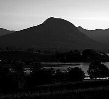 Mt Greville, afternoon light by Mark Batten-O'Donohoe