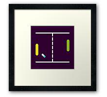 Pong Ping. Framed Print