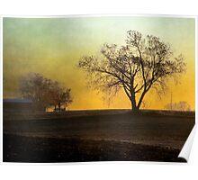 Daybreak on the Farm Poster