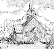 Midway Chapel: Midway Methodist Church by BobHenry