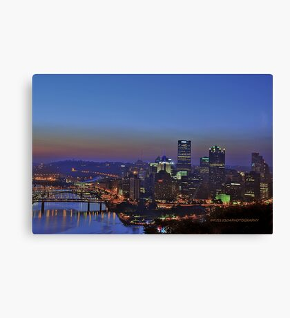 Pittsburgh Revisited I HDR Canvas Print