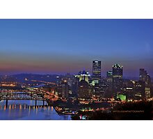 Pittsburgh Revisited I HDR Photographic Print