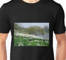 Field of White Daffodils Unisex T-Shirt
