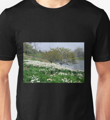 Field of White Daffodils Unisex T-Shirt