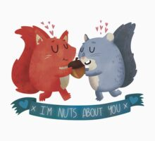 I'm Nuts About You Squirrels T-Shirt