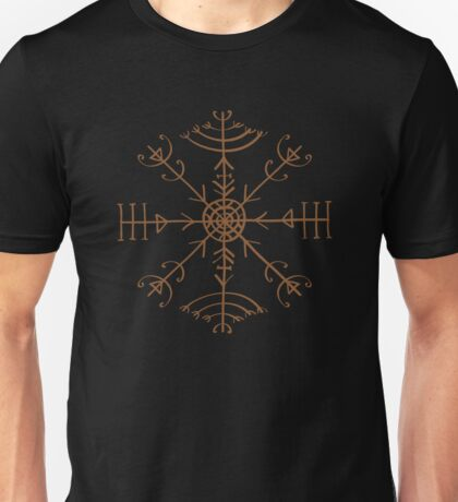 Veldismagn, Icelandic Bind Rune, Protection, Health & Good Luck Unisex T-Shirt