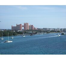 Seaport Bahamas Photographic Print