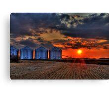 prairie giants Canvas Print