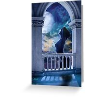 Bathed In Moonlight Greeting Card