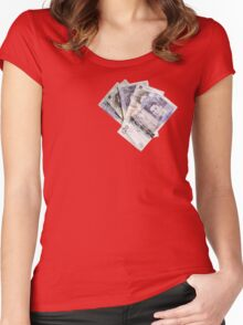 Hard Cash Women's Fitted Scoop T-Shirt