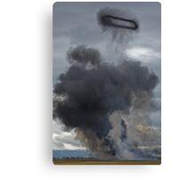 Smoke Ring Canvas Print