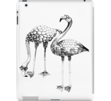 Flamingo Spectacles Drawing iPad Case/Skin