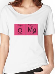 "Funny Periodic table ""OMG"" Oh My God Women's Relaxed Fit T-Shirt"