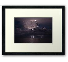 Darwin Spectacular Framed Print