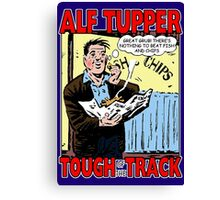 Alf Tupper Tough of the Track Comic Fish & Chips Canvas Print