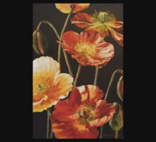 Poppies Too (for Lea Durham) T-Shirt