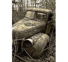 Ford Tuff Photographic Print