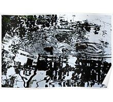 (Abstract) Little Ducks Poster