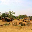 African Village by Dan Shiels