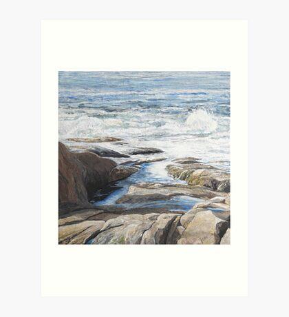 Northshore Scape II Art Print