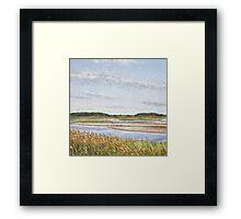 Waving Reeds Framed Print