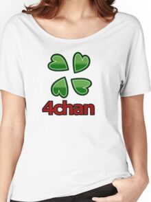 4chan logo for anon's Women's Relaxed Fit T-Shirt