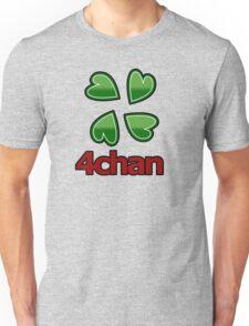4chan logo for anon's Unisex T-Shirt