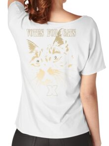 Votes for Cats T-Shirt Women's Relaxed Fit T-Shirt