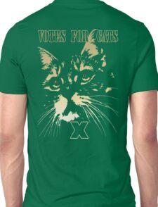 Votes for Cats T-Shirt Unisex T-Shirt