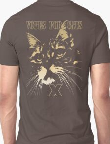 Votes for Cats T-Shirt Unisex T-Shirt
