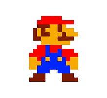 Super Mario Bros Pixel by Gustavinlavin