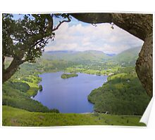The Lake District: Grasmere Framed Poster
