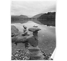 The Lake District: Balancing Act Poster