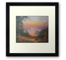 Urquhart Castle Loch Ness Framed Print