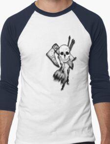 Skull, Axe and Arrow Men's Baseball ¾ T-Shirt