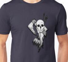 Skull, Axe and Arrow Unisex T-Shirt