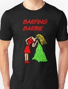 Barfing Barbie  T-Shirt