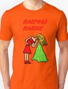 Barfing Barbie  Unisex T-Shirt