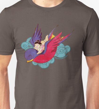 Ride the swallow Unisex T-Shirt