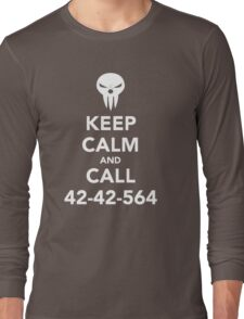 Keep calm and call 42-42-564 Call the Shinigami Long Sleeve T-Shirt