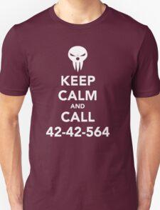 Keep calm and call 42-42-564 Call the Shinigami T-Shirt