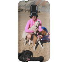 5 Sera with her Spoodle, Beagle & Schitzu Samsung Galaxy Case/Skin