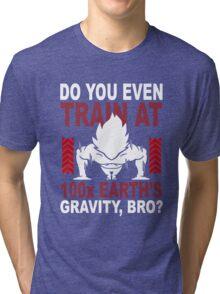 Train Goku Gym Tri-blend T-Shirt
