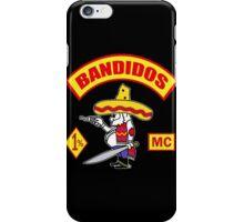 Bandidos Motorcycle Club iPhone Case/Skin
