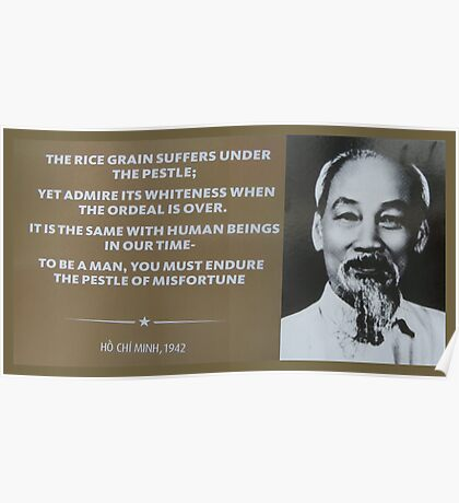 Uncle Ho Wisdom Poster
