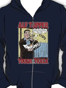 Alf Tupper Tough of the Track Comic Fish & Chips T-Shirt